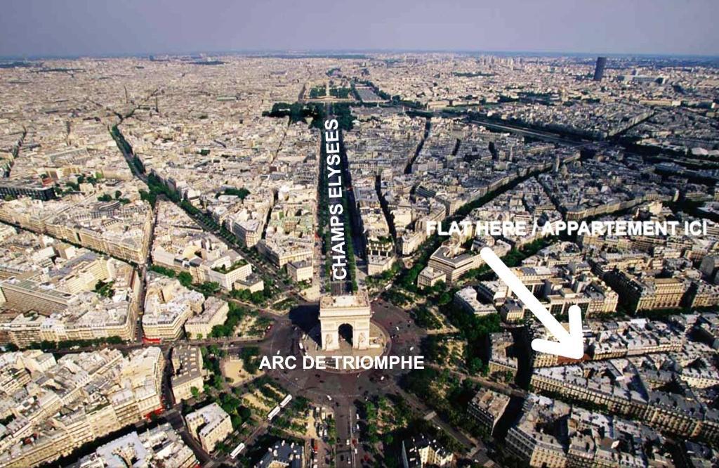 Apartment Arc de Triomphe, Paris – Tarifs 2019