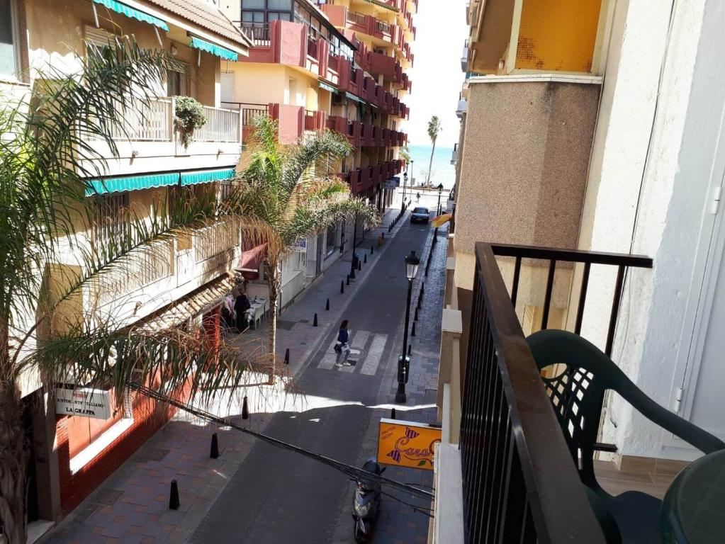 A balcony or terrace at Apartment Calle Miguel de Cervantes
