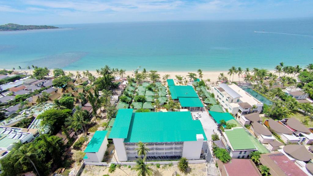 A bird's-eye view of Lamai Coconut Beach Resort