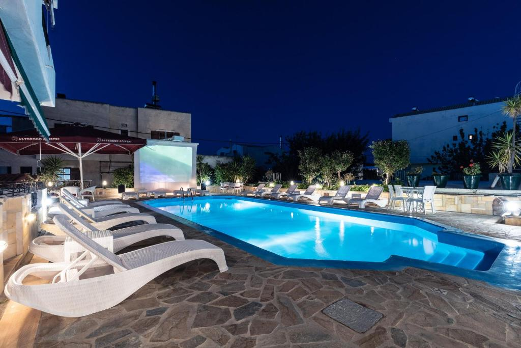 The swimming pool at or near Yianna Hotel