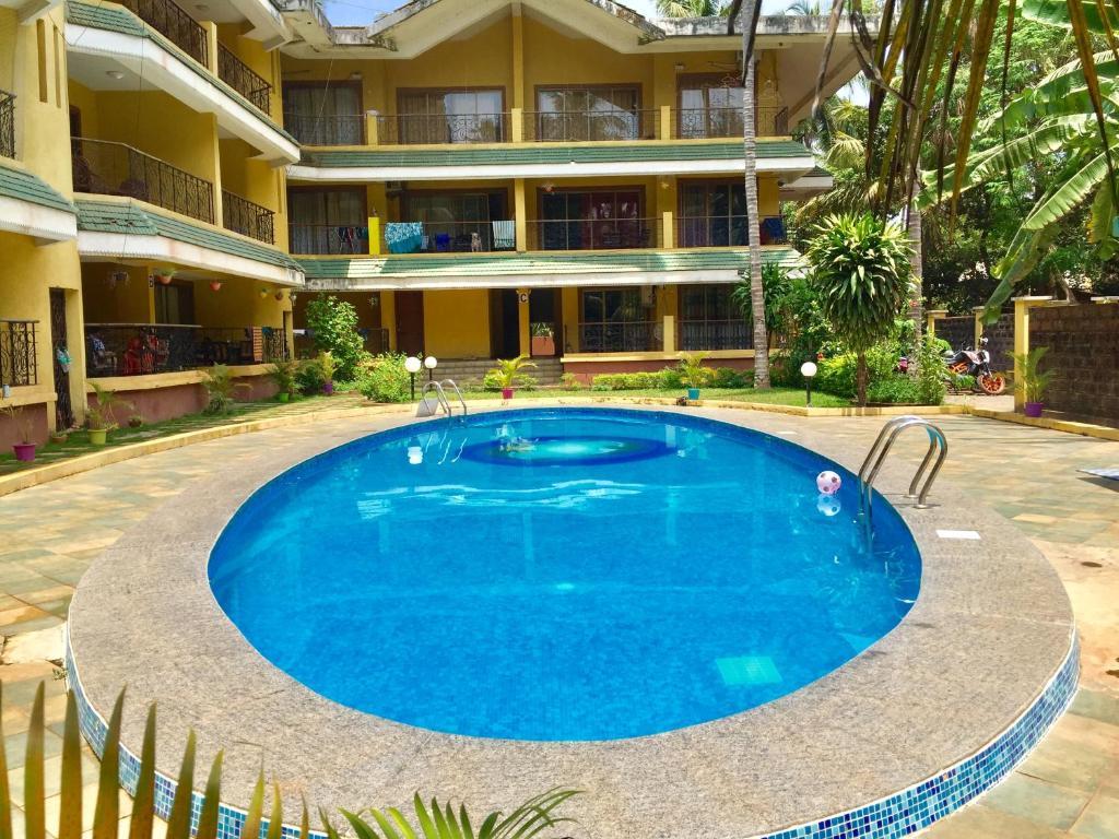 Apartment Goa Homeland Jade Garden Baga India Booking Com