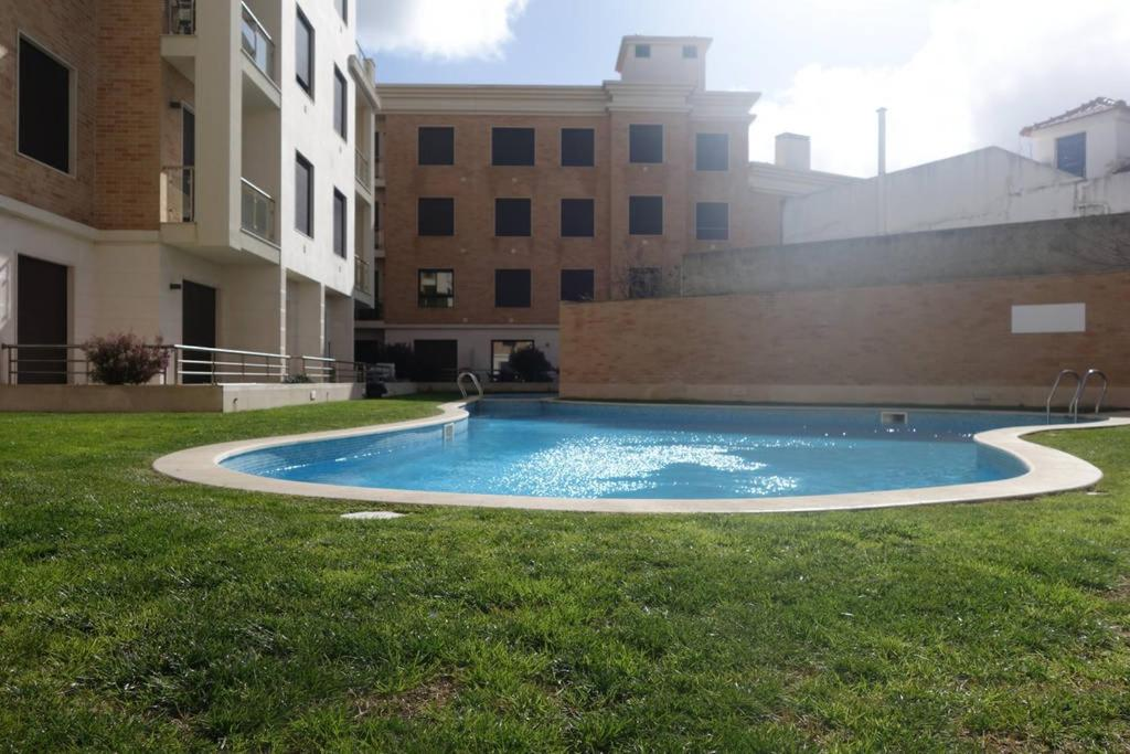 The swimming pool at or near Casa de São Martinho