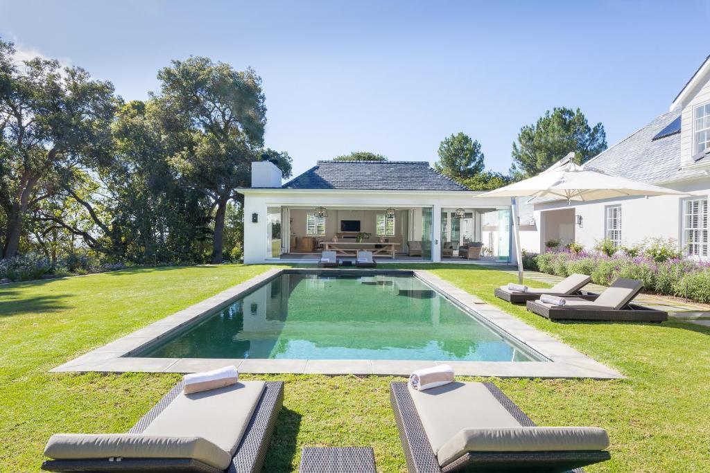 Villa Zuid Afrika : Skydance villa zuid afrika kaapstad booking