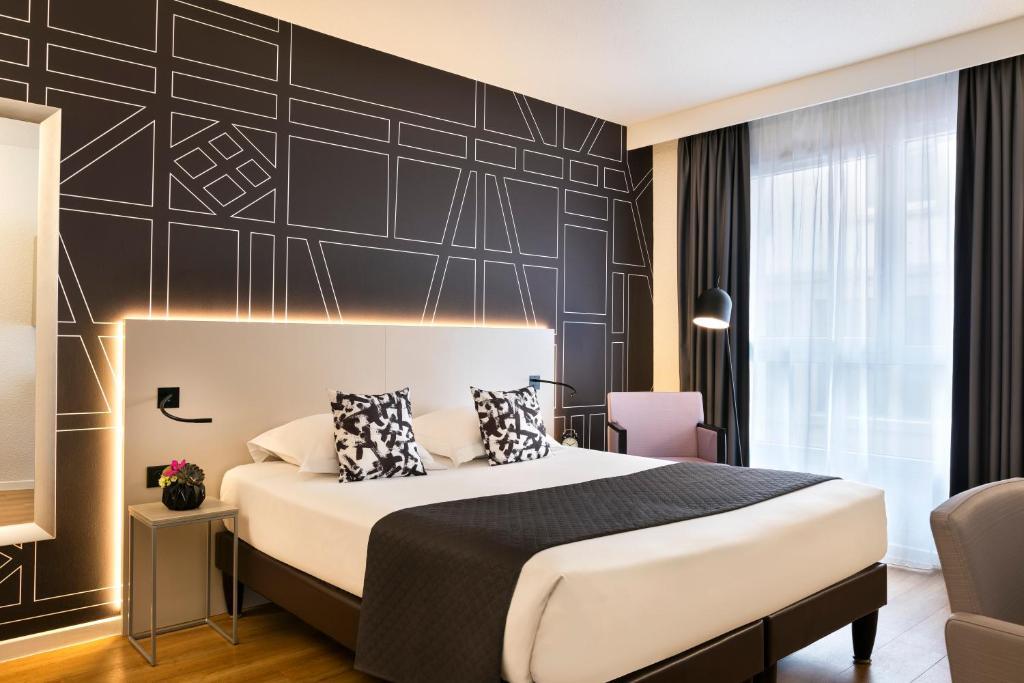Un ou plusieurs lits dans un hébergement de l'établissement Citadines Kléber Strasbourg