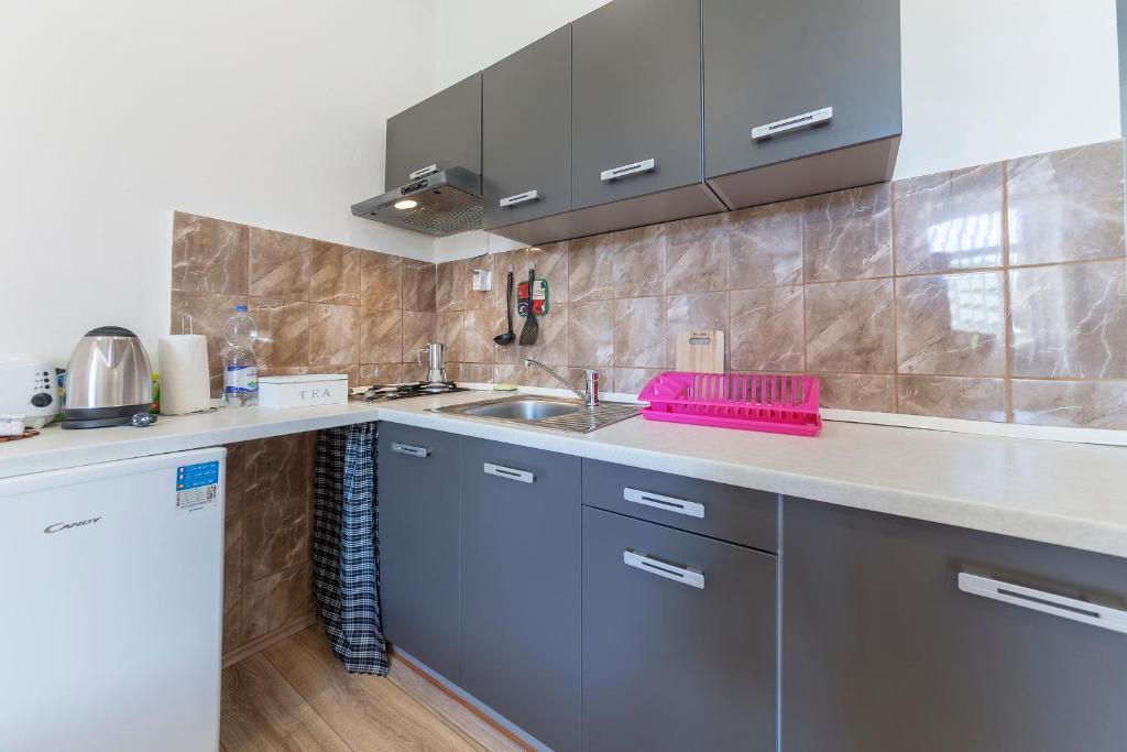 Küche/Küchenzeile in der Unterkunft Guest House ZoNa