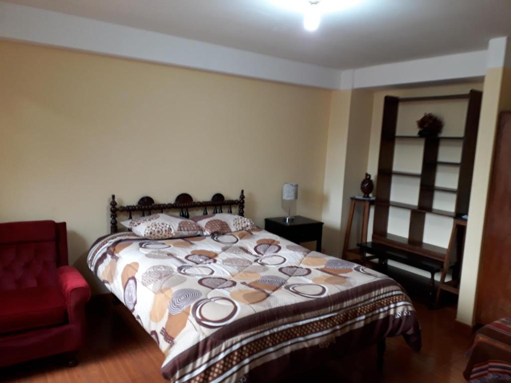 Cama o camas de una habitación en Apartment home