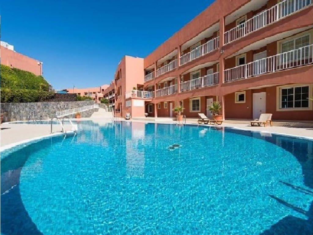Het zwembad bij of vlak bij Apartamento Playa Paraiso