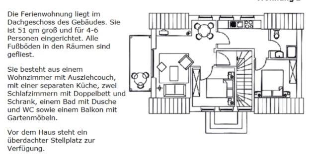 Apartment Traum Dachgeschosswohnung Am Teich Altenkirchen Germany
