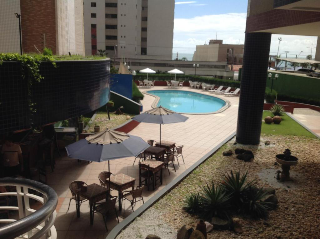 A view of the pool at Porto de Iracema or nearby