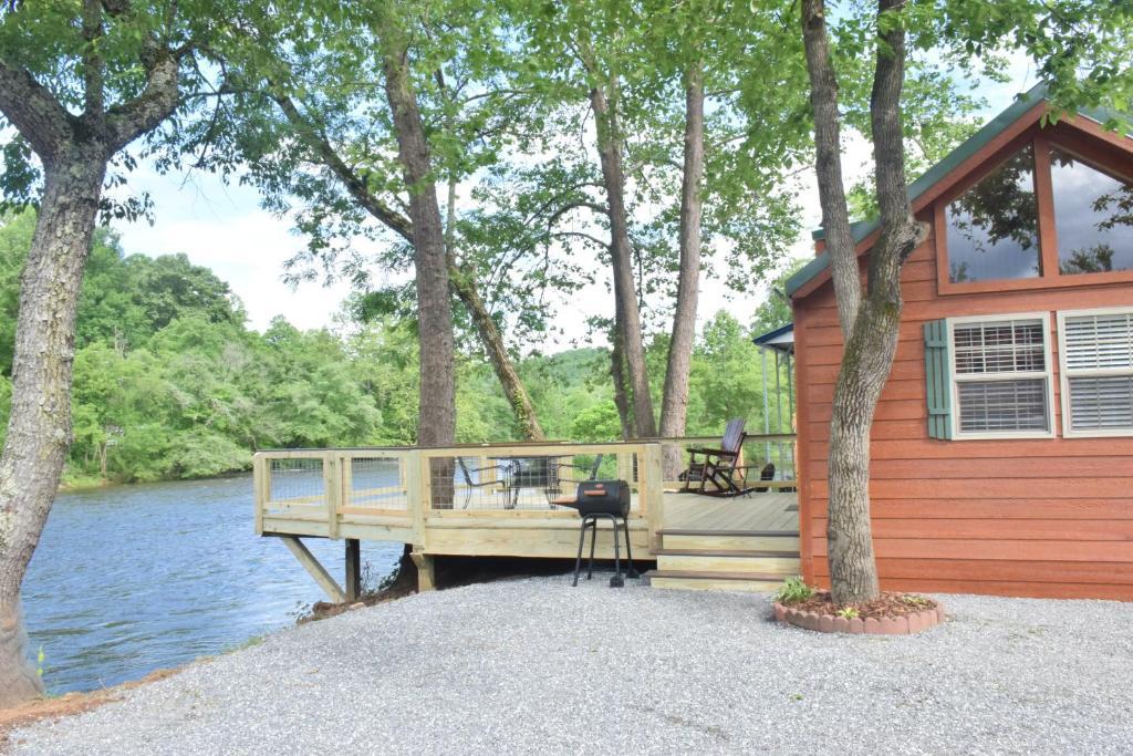 Vacation Home Laurel Bush Riverfront Cabins New Tiny