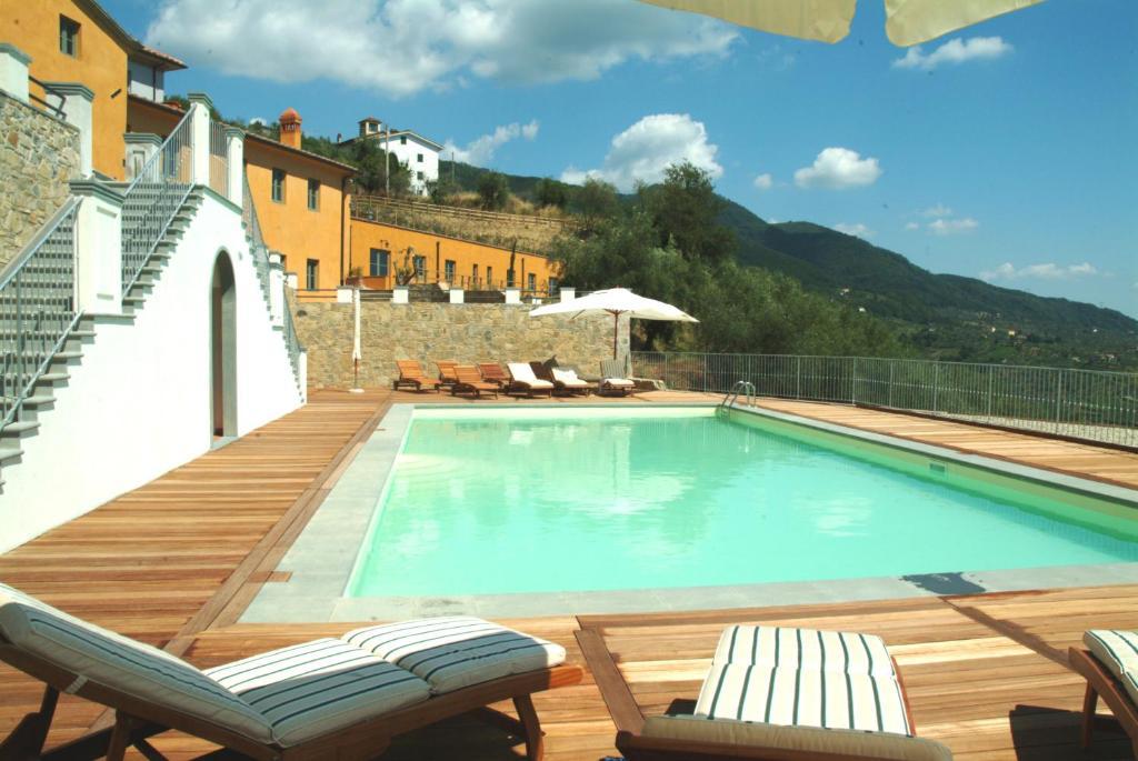 The swimming pool at or near Bellavista