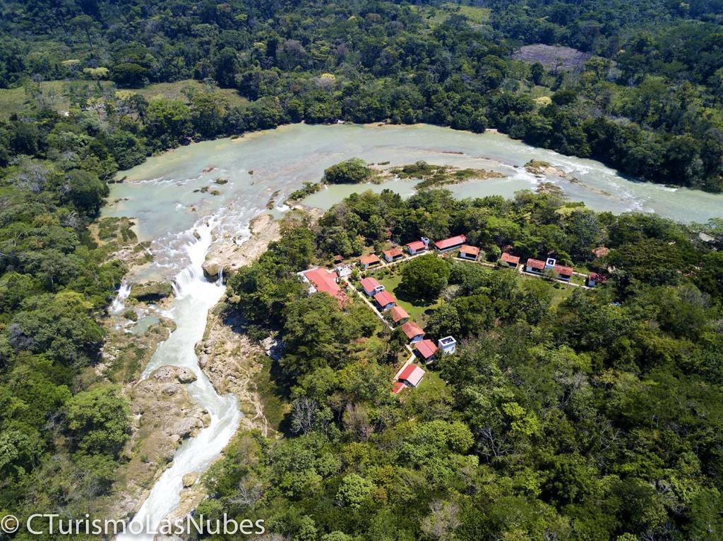 A bird's-eye view of Lodge Las Nubes Chiapas