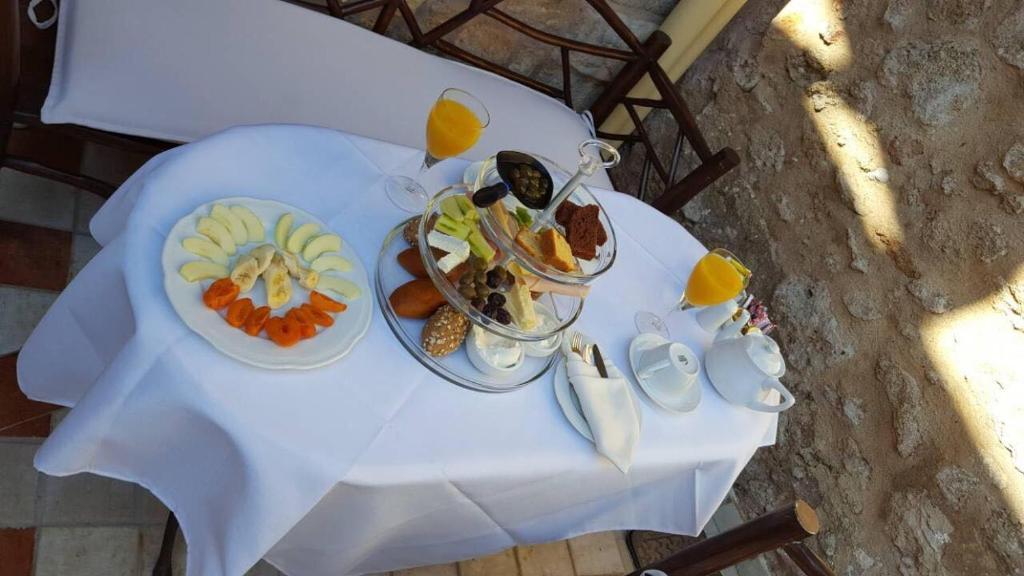 Επιλογές πρωινού για τους επισκέπτες του Πέτρινο