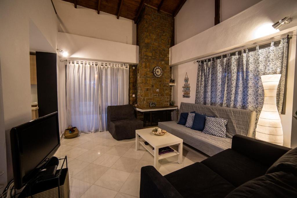 A seating area at Villa Elea