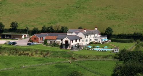 A bird's-eye view of Sid Valley Country House Hotel