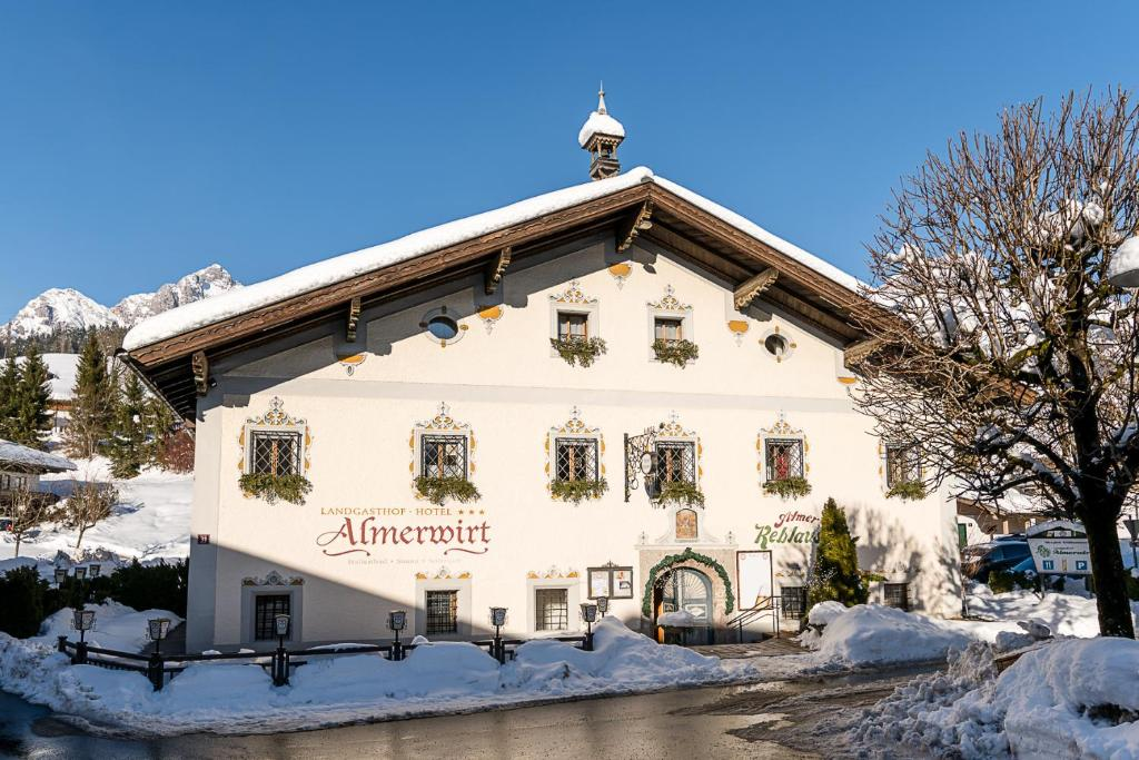 Almerwirt during the winter