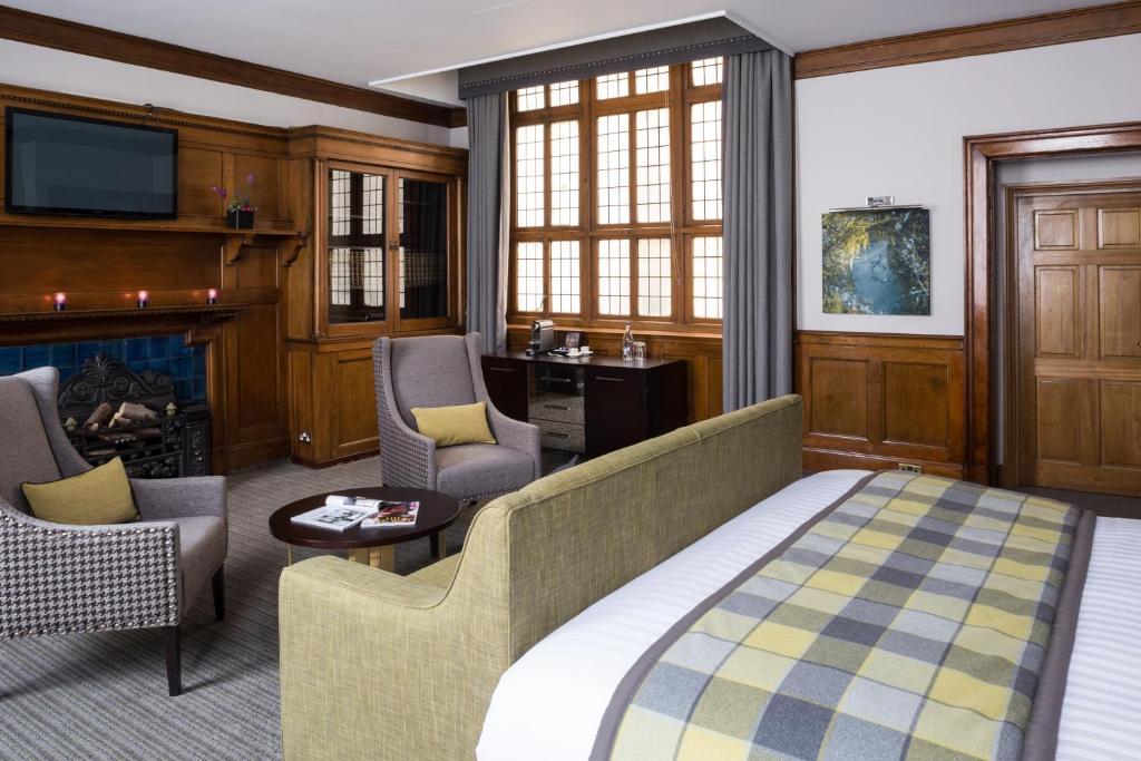 Chambre de l'Art House hotel à Glasgow.