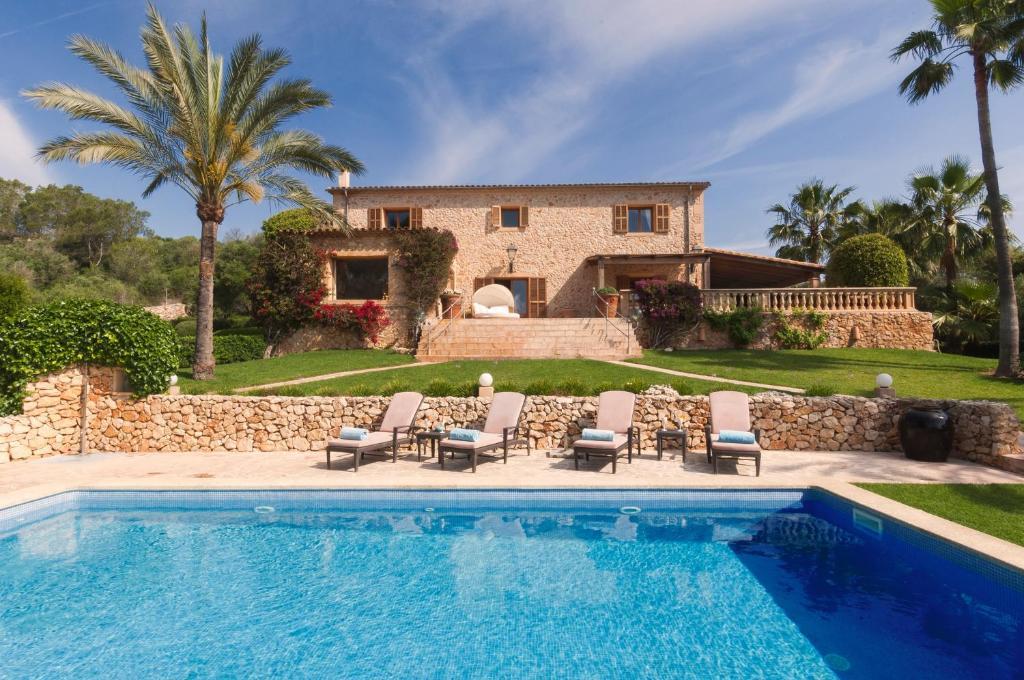 Mallorca Luxus Finca Ferienhaus Cala Millor Spanien Son