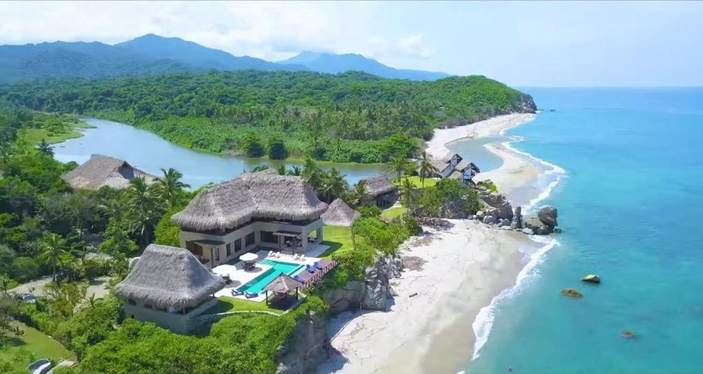 A bird's-eye view of Senda Casa Tayrona Los Naranjos