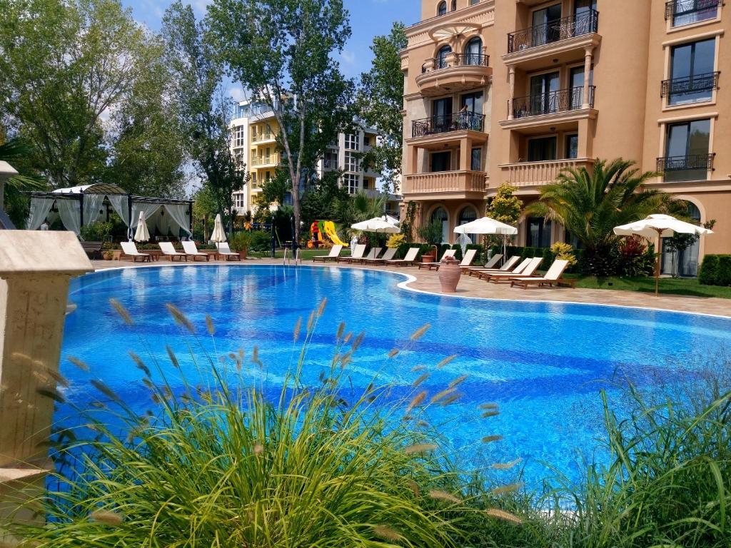 Апартамент Romantic apartament-studio Afrodita Gardens - Слънчев бряг