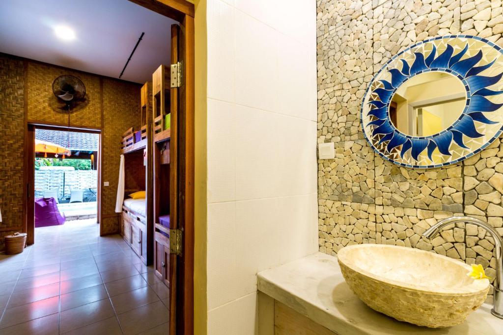 Salle de bains dans l'établissement Sleepy Croc