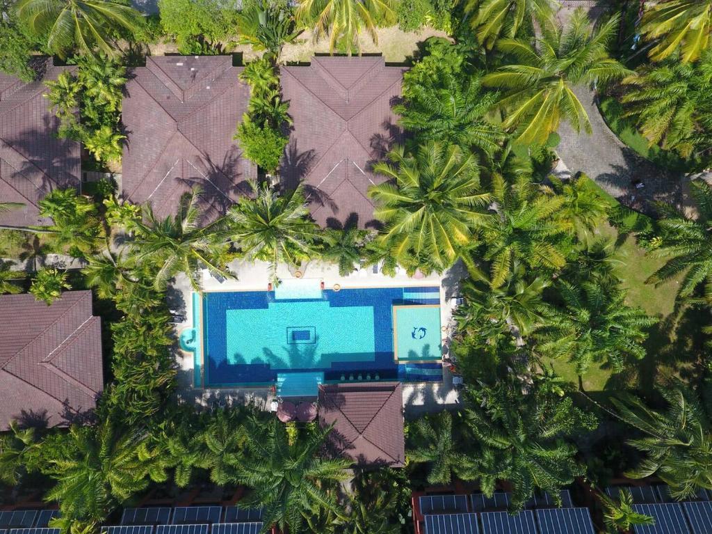 Blick auf Sudala Beach Resort aus der Vogelperspektive