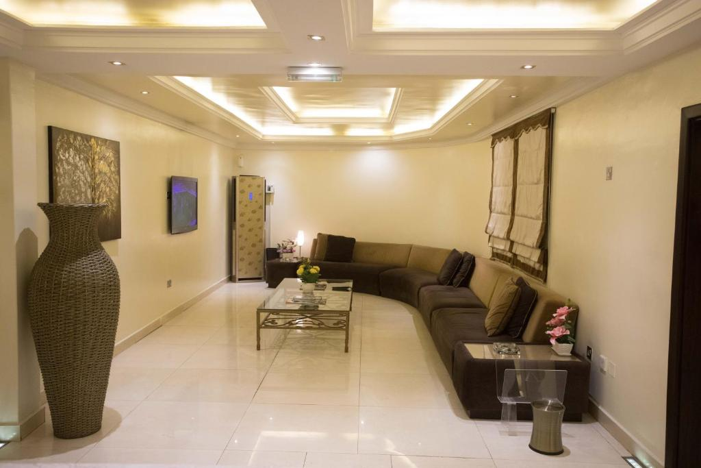 A seating area at GK Guest Palace