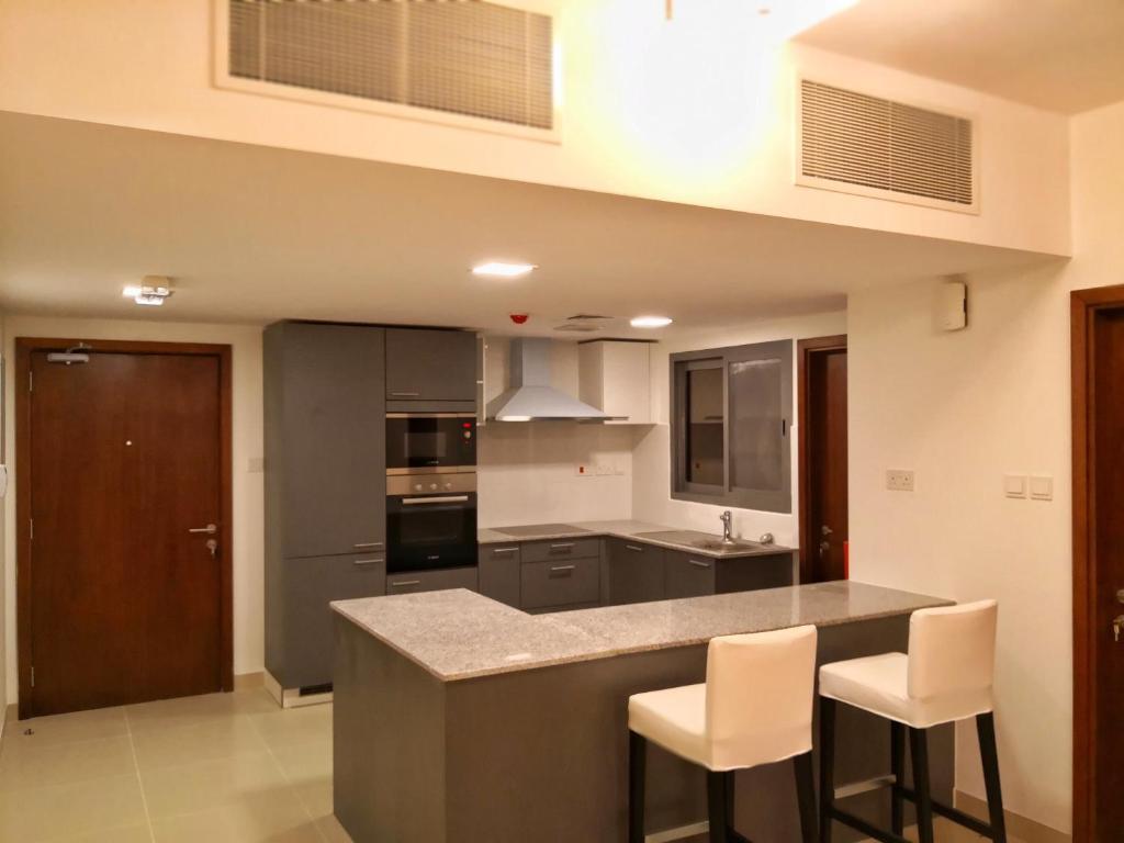 Küche/Küchenzeile In Der Unterkunft Furnished Single Bedroom