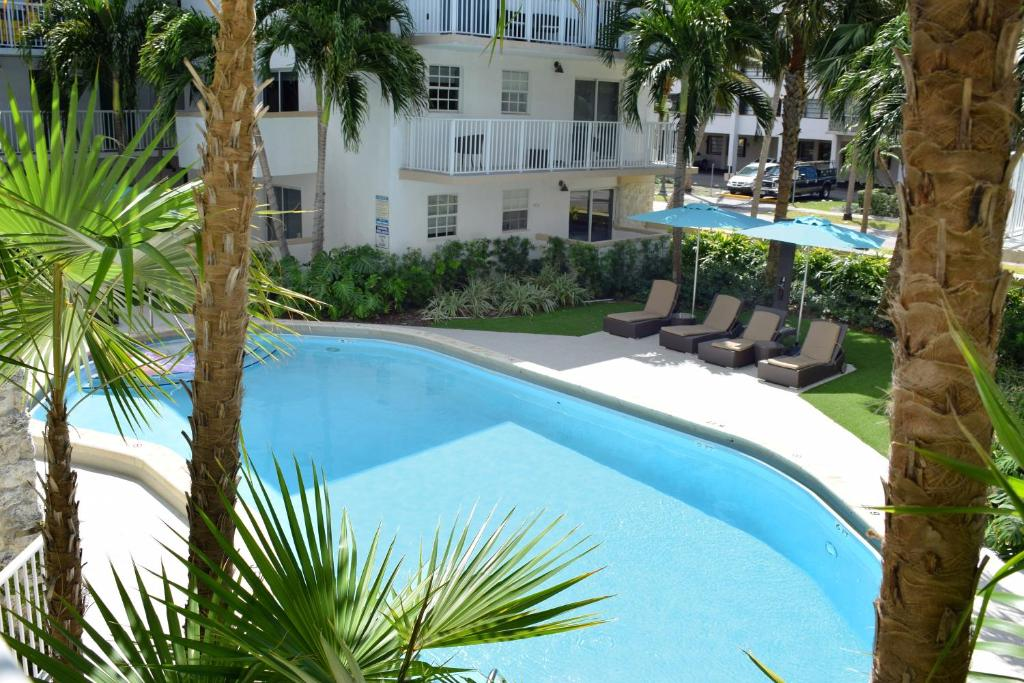A view of the pool at Ocean Vacation Homes or nearby