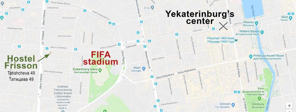 Hostel Frisson Yekaterinburg Russia Booking Com