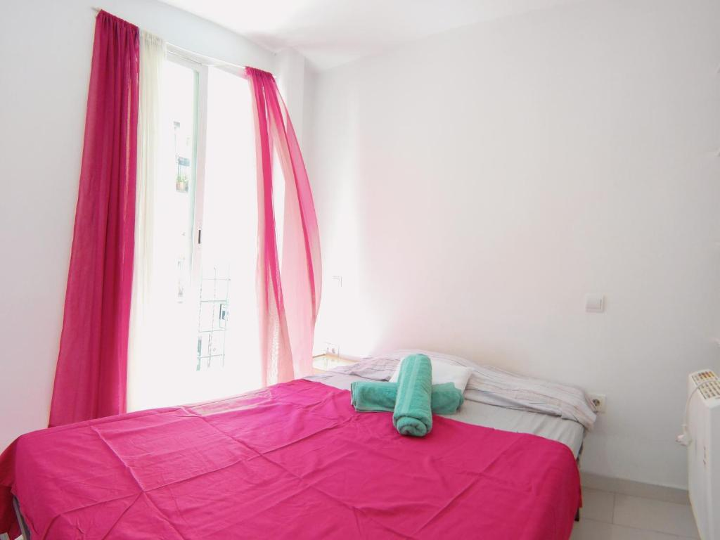 A bed or beds in a room at Apartment Az 1º Ext Centro Derecha