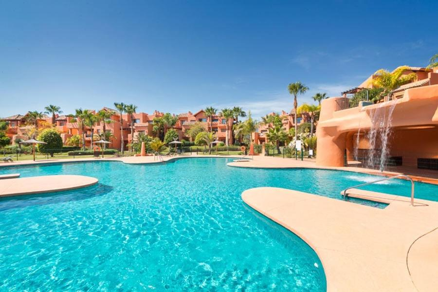 The swimming pool at or near Golf Resort 2 Bedroom Apartment near Marbella
