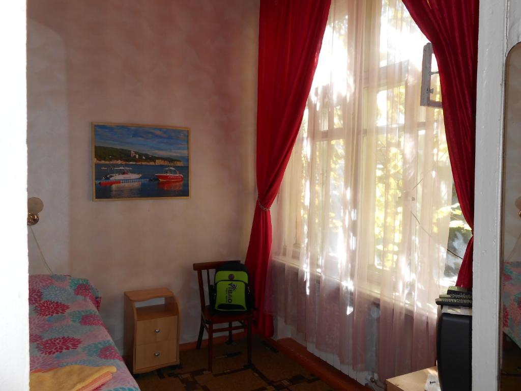 Гостиная зона в Apartment on Razumovskogo 7