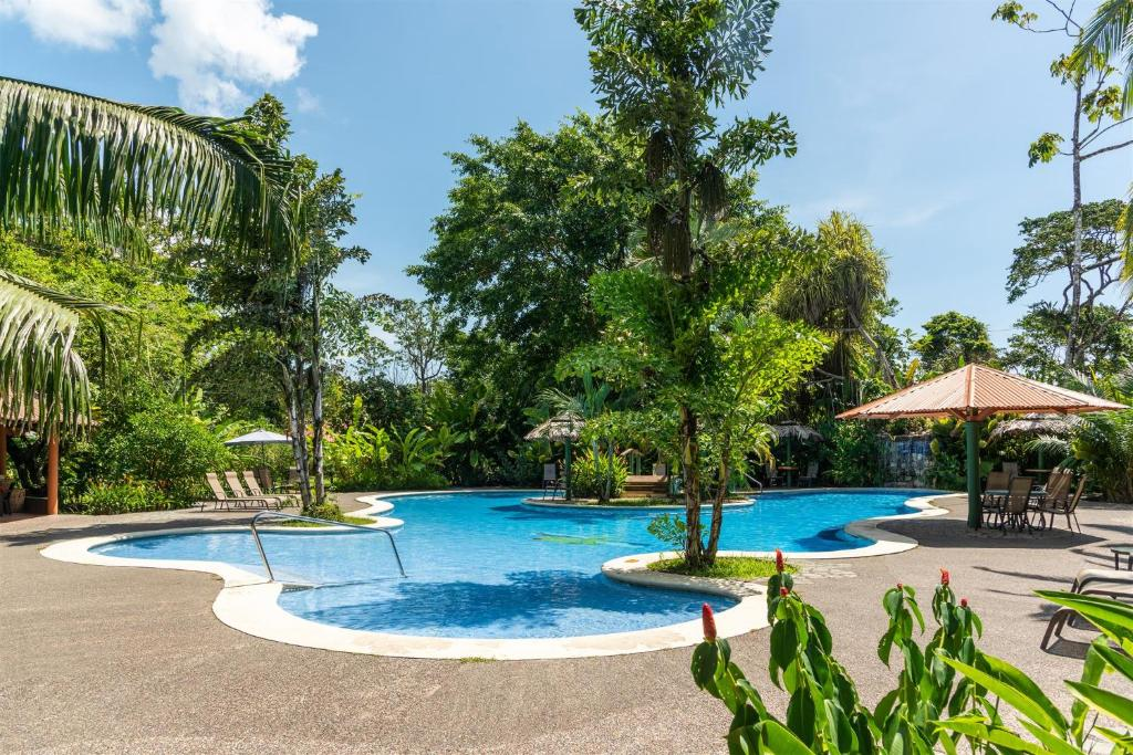 The swimming pool at or near Laguna Lodge