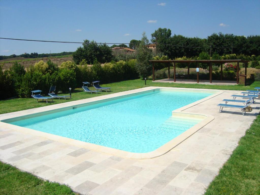 The swimming pool at or near Casa Grande