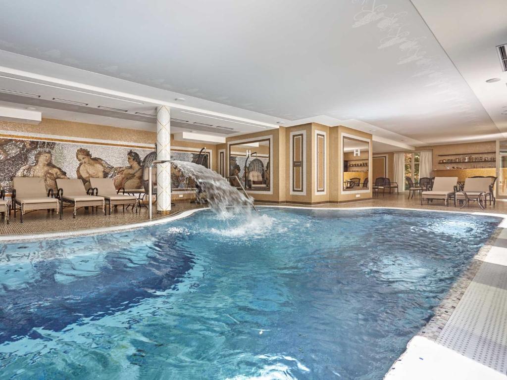 The swimming pool at or near Villa Dionysus