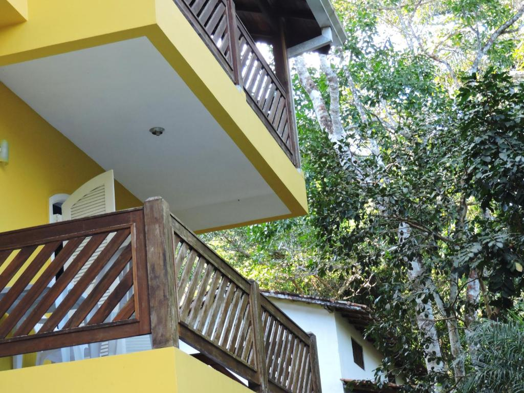 A balcony or terrace at Pousada do Horto