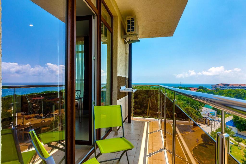 Балкон или терраса в Апарт-отель Тихая Бухта