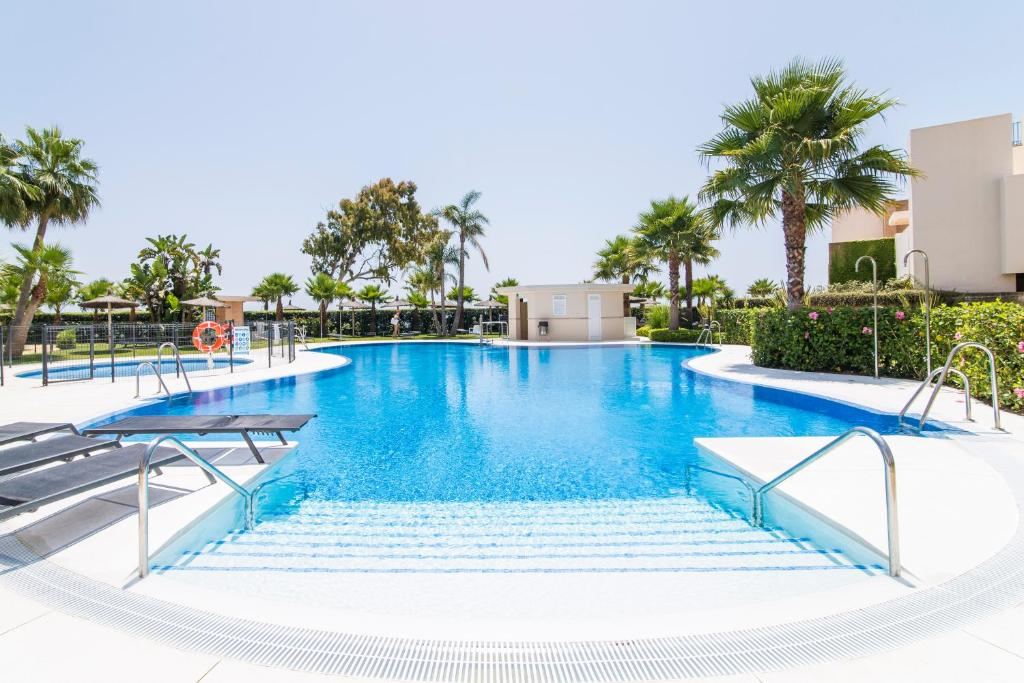 The swimming pool at or near Bahia De la Plata, Spain-Estepona