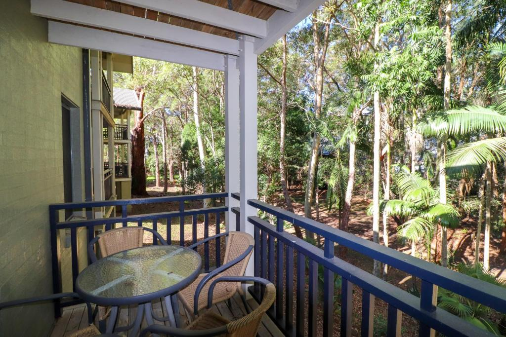 A balcony or terrace at Dollarbird Treetops Townhouse