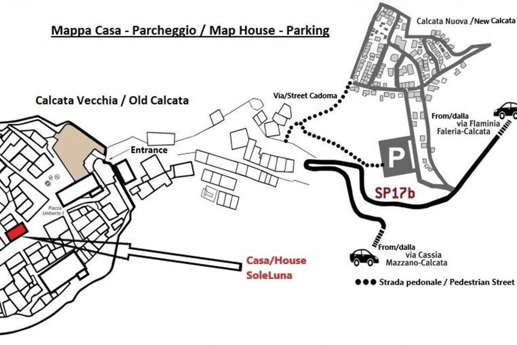 Apartment Casa Soleluna Calcata Italy Booking Com