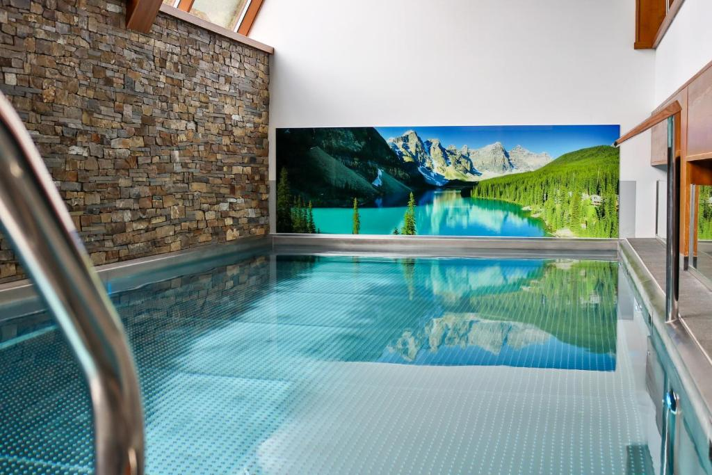 The swimming pool at or near Hotel Bystra