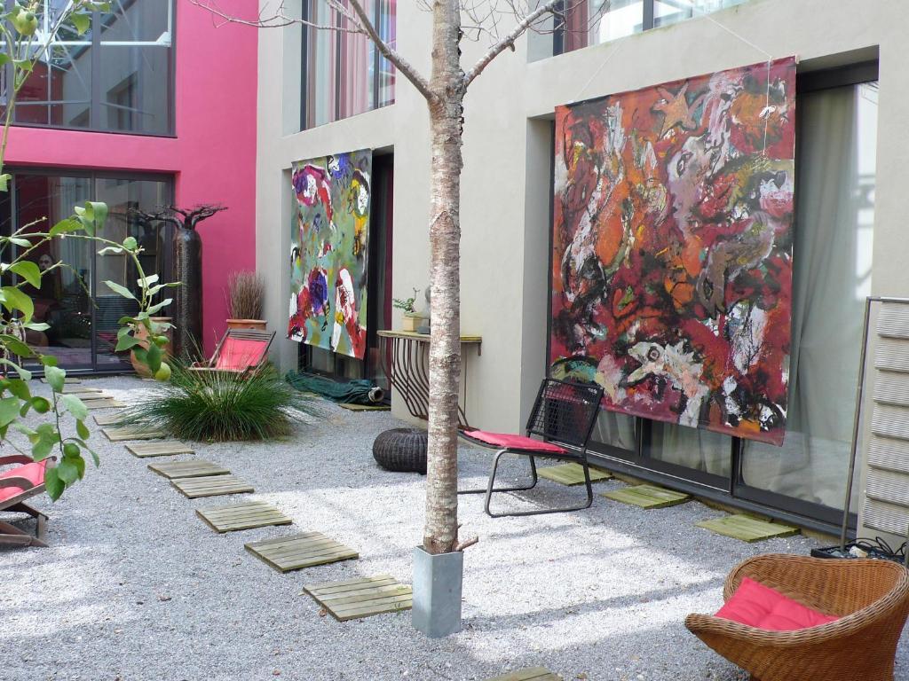 b&b / chambres d'hôtes dhôtes poteau rose (france bayonne