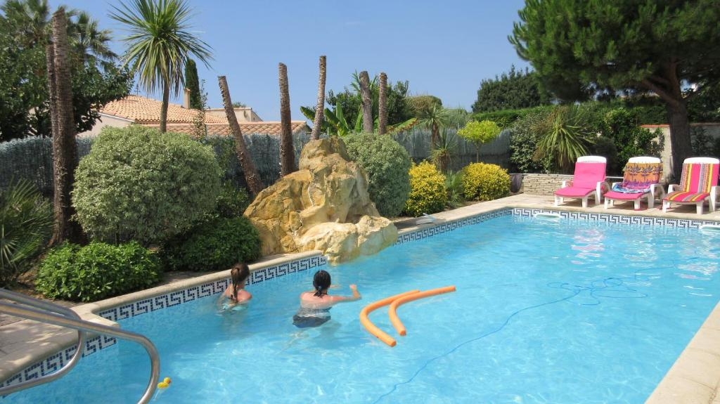 The swimming pool at or near GALLO-ROMAINS
