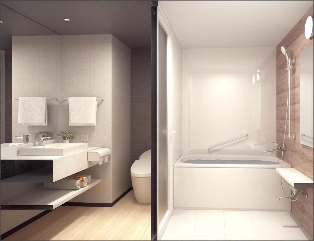 ポイント2.バストイレ別の過ごしやすい客室