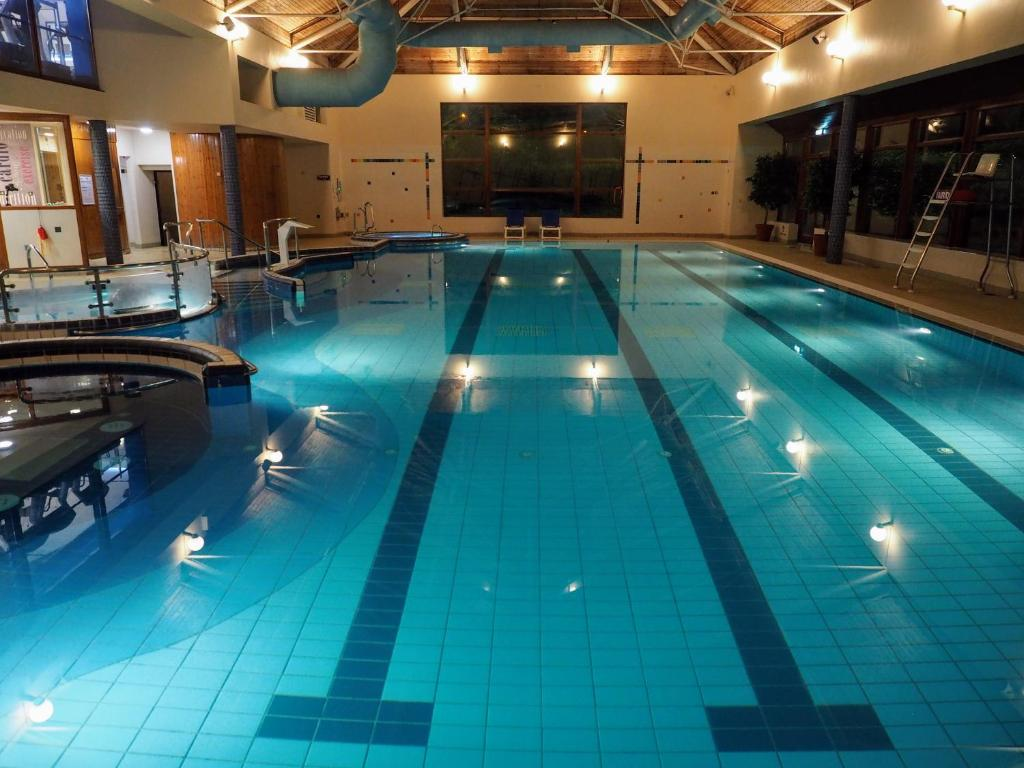 The swimming pool at or near Tullamore Court Hotel