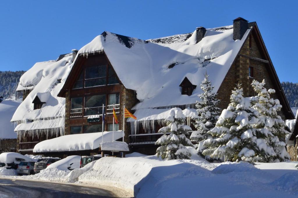 location chalet ski baqueira