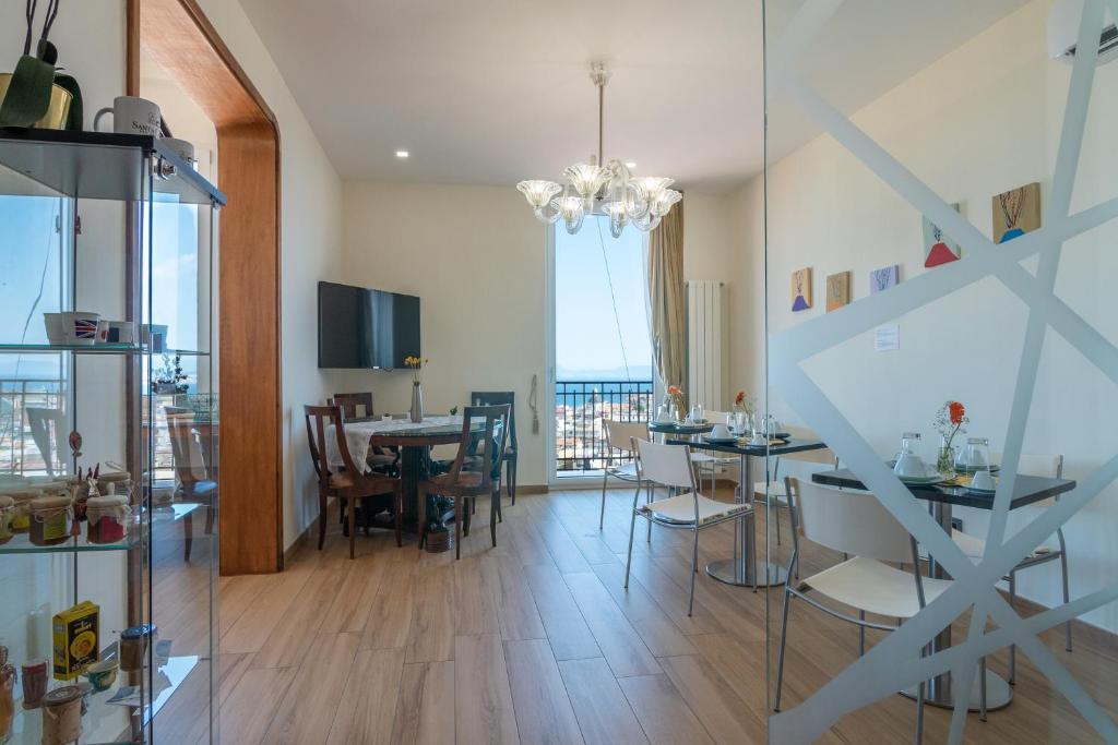 Restaurant ou autre lieu de restauration dans l'établissement Santa Caterina B&B