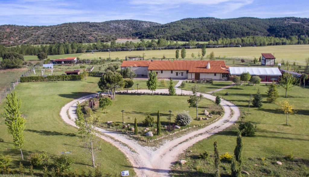 A bird's-eye view of Hotel Rural Bioclimático Sabinares del Arlanza