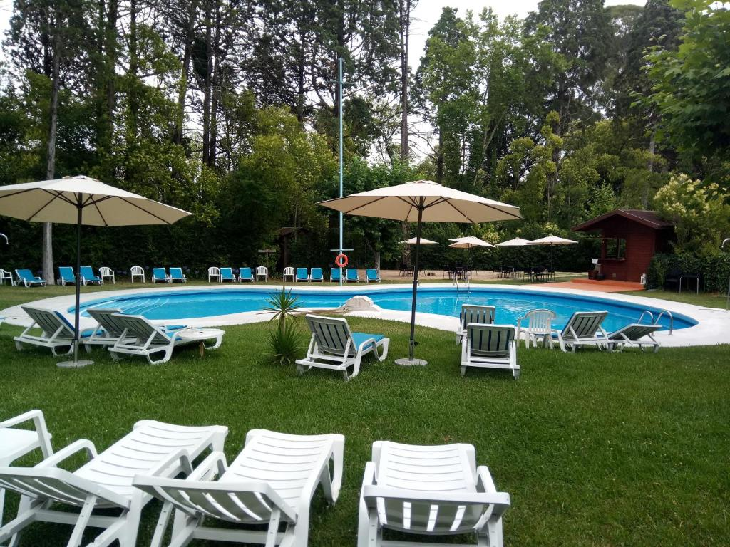 The swimming pool at or near Hotel Termas da Curia